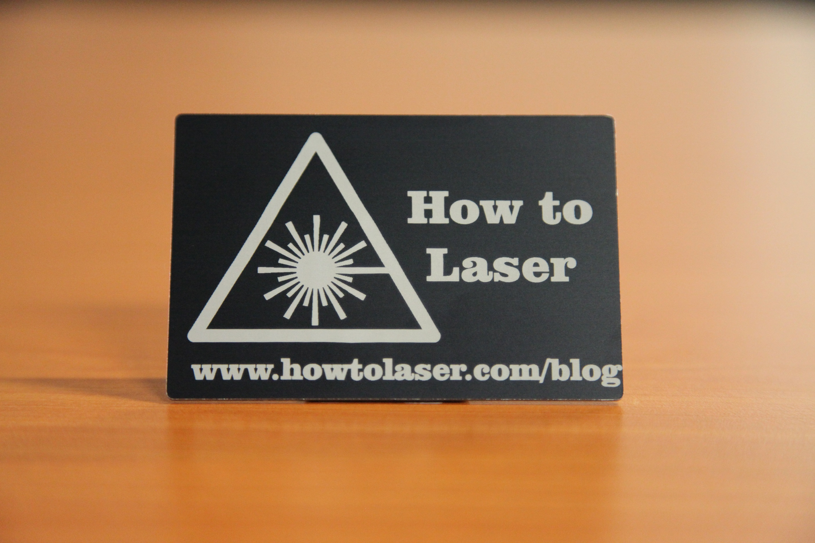 Laser Engraving Anodized Aluminium - The right way